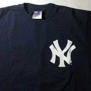 New York Yankees Tshirt Mens Size Large Preowned
